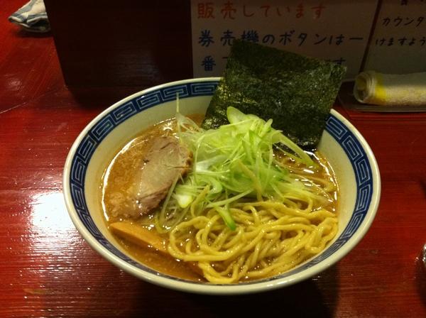麺屋 十郎兵衛 味噌ラーメン 麺の状態