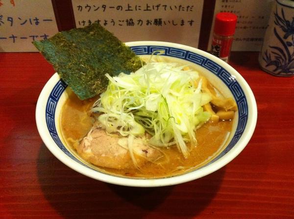 麺屋 十郎兵衛 味噌ラーメン (二杯目)