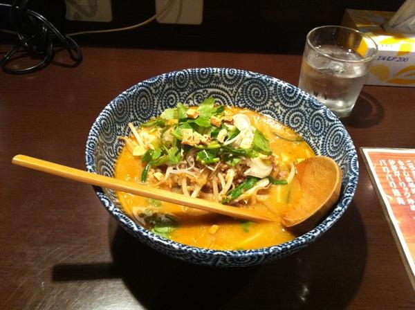 麺屋345丁目 納豆味噌ラーメン