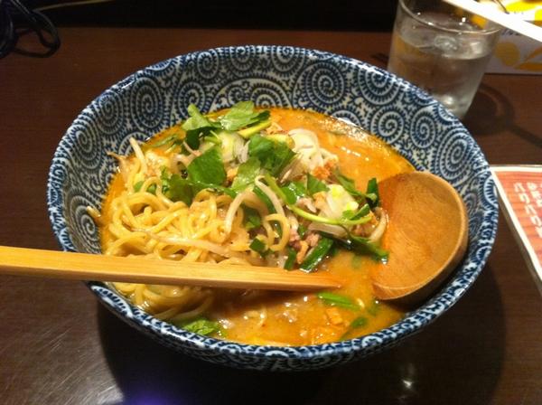 麺屋345丁目 納豆味噌ラーメン 麺の具合