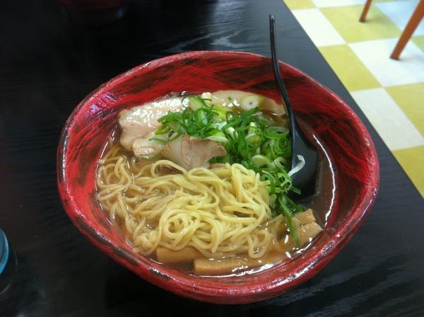 京都らあめん玄作 チャーシューメン 麺の具合