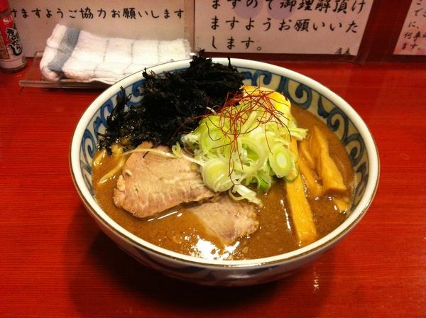 麺屋 十郎兵衛 濃厚かつお麺(大盛り)