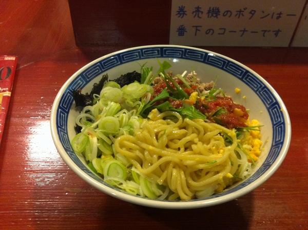 麺屋 十郎兵衛 十郎竹麺(鰹出汁) 麺