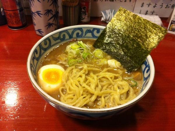 麺屋 十郎兵衛 煮干しガツン系ラーメン(仮称) 麺