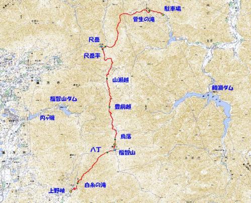 福智山2010.7
