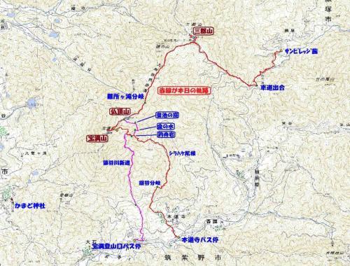 三郡山(筑山協)