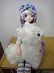姫様とアルパカ01