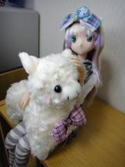 姫様とアルパカ03