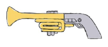 空筒砲ラフイメージ