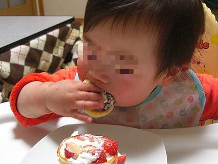 息子くん 1歳の誕生日-1