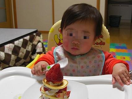 息子くん 1歳の誕生日-2