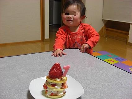 息子くん 1歳の誕生日-3