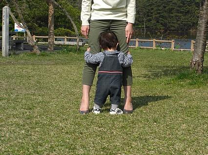 野木和公園-息子くん-1