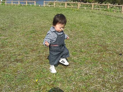 野木和公園-息子くん-2