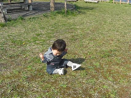 野木和公園-息子くん-3