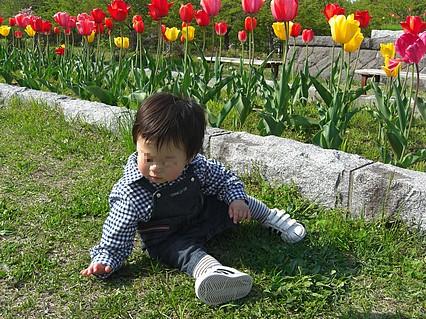 野木和公園-息子くん-5