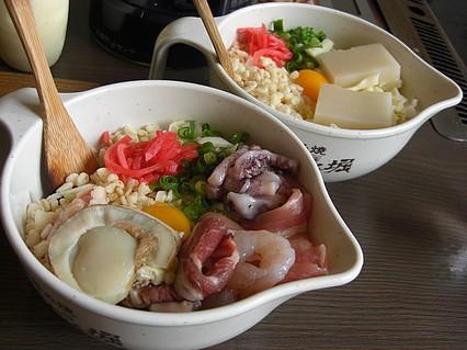 お好み焼 道とん堀 弘前安原店 モチーズ、デラックス