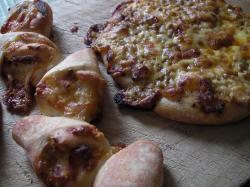 ピザとエピ