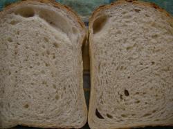 食パン断面穴