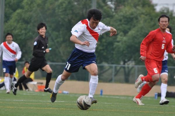 天皇杯県予選 vs愛知朝鮮蹴球団1