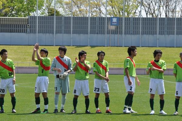 天皇杯県予選 vsトヨタ蹴球団10