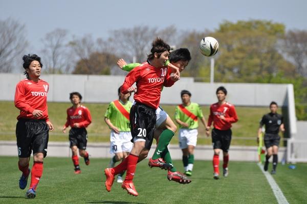 天皇杯県予選 vsトヨタ蹴球団11