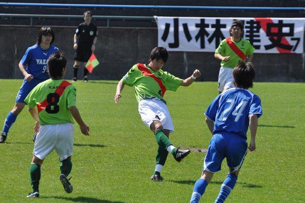 2010東海社会人リーグ第18節 vs矢崎バレンテ10
