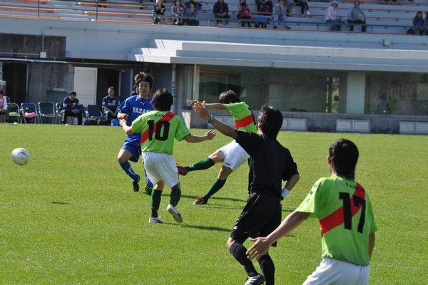 2010東海社会人リーグ第18節 vs矢崎バレンテ21