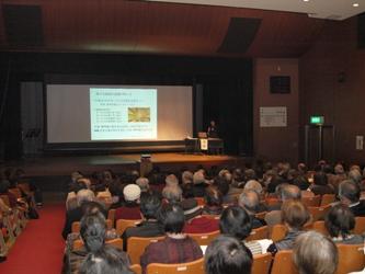 山崎先生の講演
