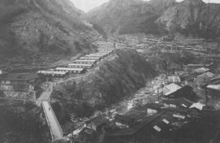 小滝地区の中心部写真