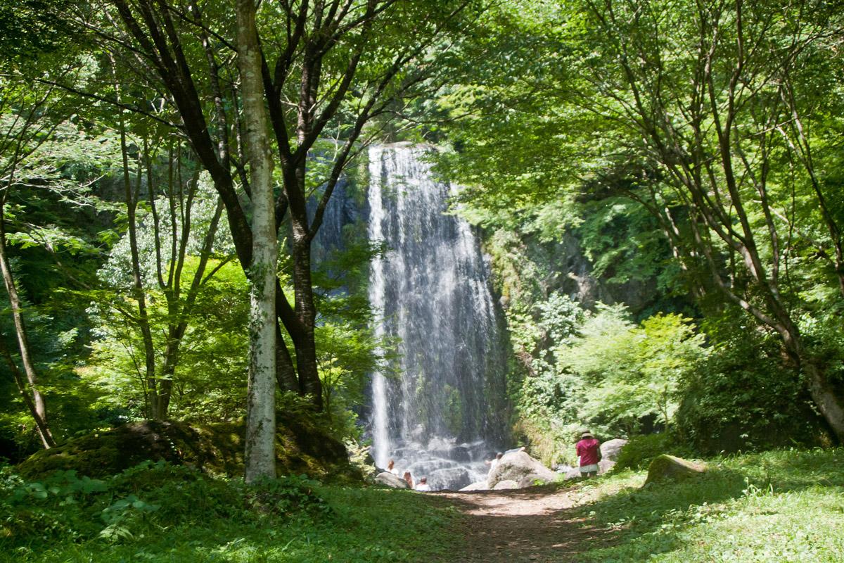 遊水峡 カッパ滝