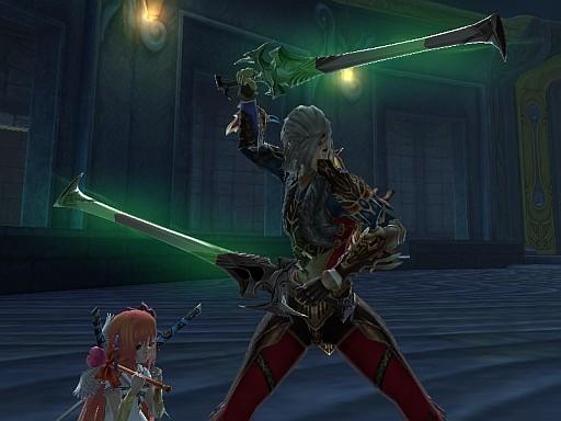 剣闘士にカリブ双剣