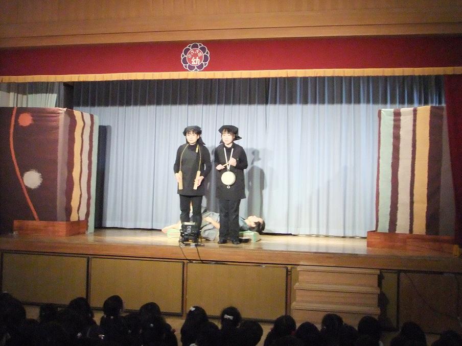 三年寝太郎 ちいさき花幼稚園 002
