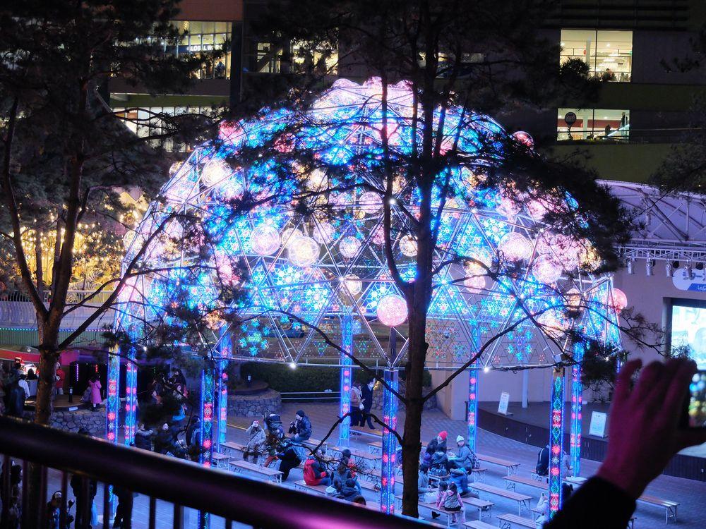東京ドームシティ+クリスマスイルミネーション