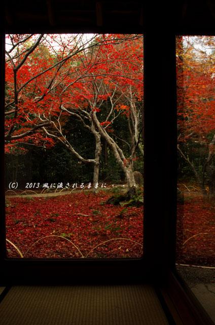 2013年 京都・嵯峨野 厭離庵の紅葉24