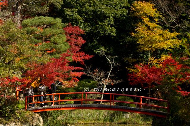 京都・落西 大野原神社の紅葉6