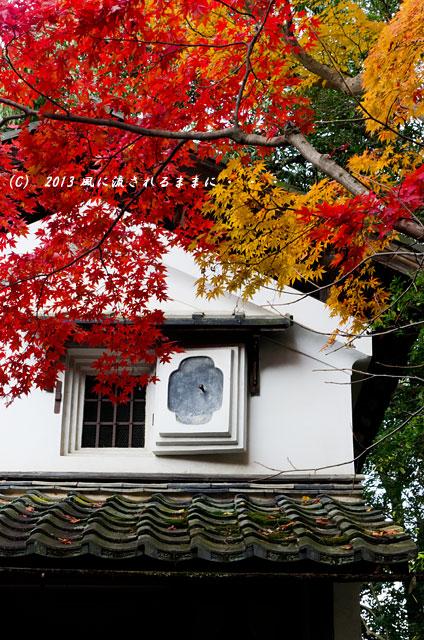 2013年 京都・詩仙堂の紅葉9