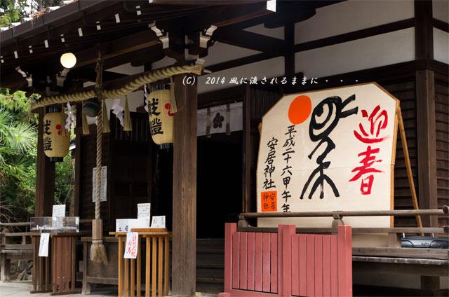 2014年 大阪・安居神社 初詣1
