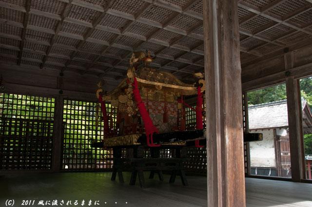 日吉大社 東本宮拝殿