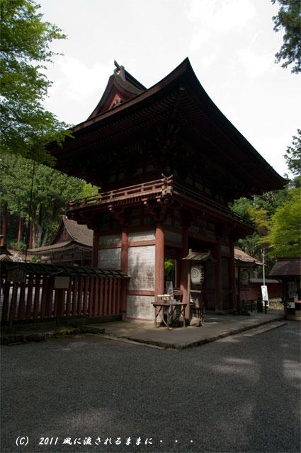 日吉大社 東本宮楼門