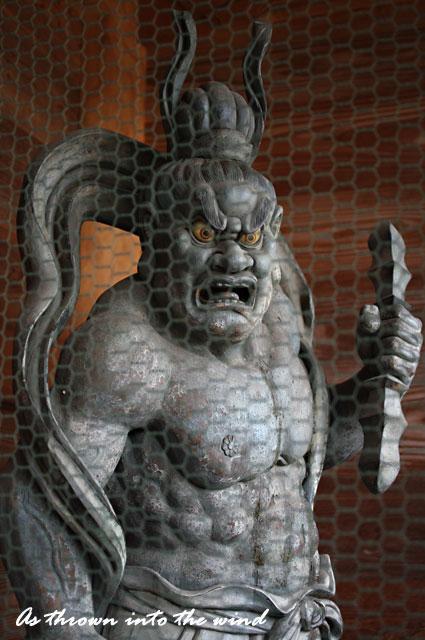 久米寺 阿形(あぎょう)像2