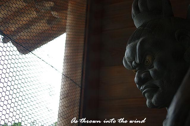 久米寺 吽形(うんぎょう)像1