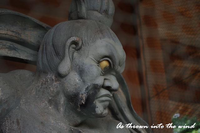 久米寺 吽形(うんぎょう)像2