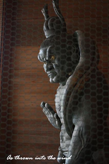 久米寺 吽形(うんぎょう)像3