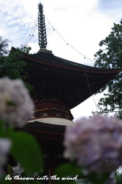 久米寺 多宝塔2