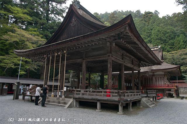 日吉大社 西本宮拝殿