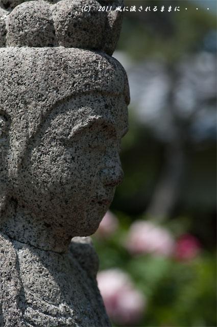 奈良・石光寺 石仏2