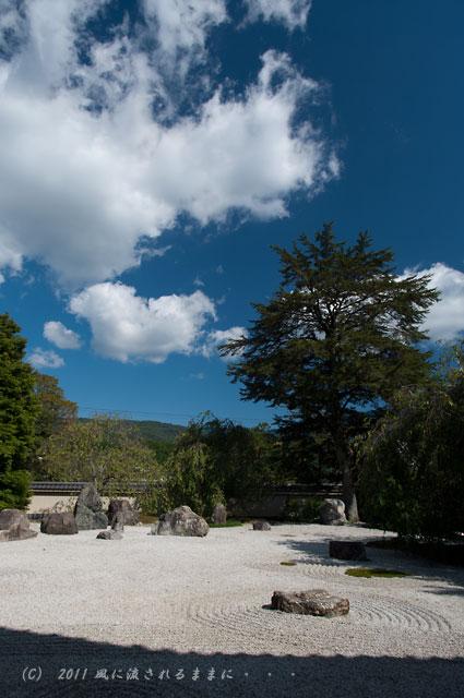 京都・実相院 庭園3