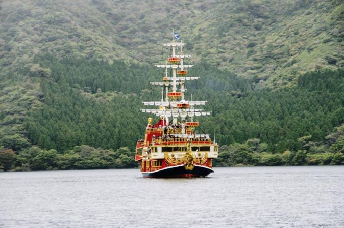 DSC09058芦ノ湖海賊船