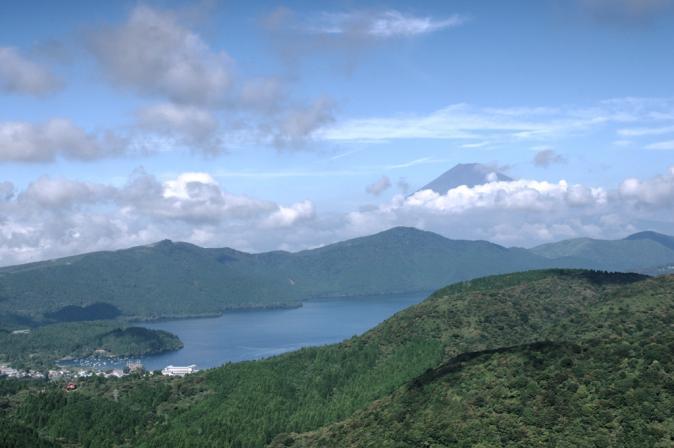 DSC05575芦ノ湖富士山